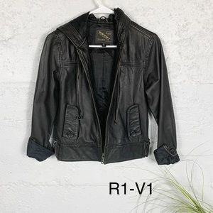 Vintage Old Navy Genuine Leather Jacket
